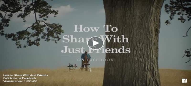 How To Share With Just Friends